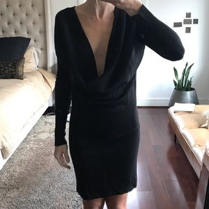 RARE Lulelemon deep scoop neck sweater dress